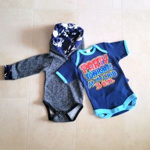 4/$20 NWOT Baby Clothes 9 Months Onesies